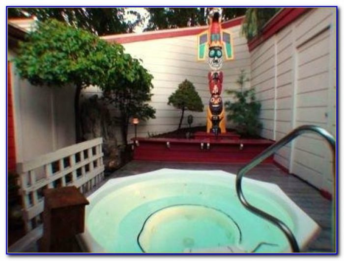 Oasis Hot Tub Gardens Alpine Ave