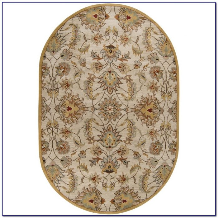 Oval Area Rugs 5x8