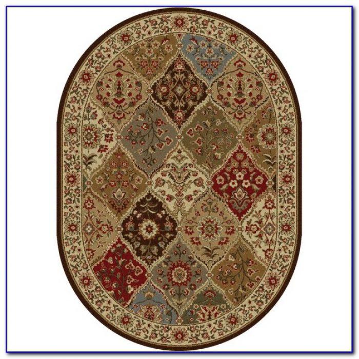 oval area rugs amazon