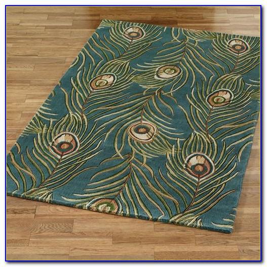 Target Peacock Area Rug Rugs Home Design Ideas
