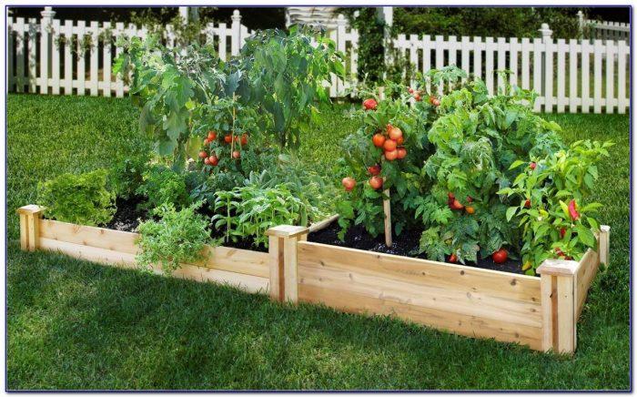 Raised garden bed kits costco garden home design ideas for Garden design kits