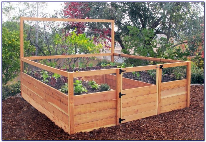 Raised Garden Bed Plans With Legs