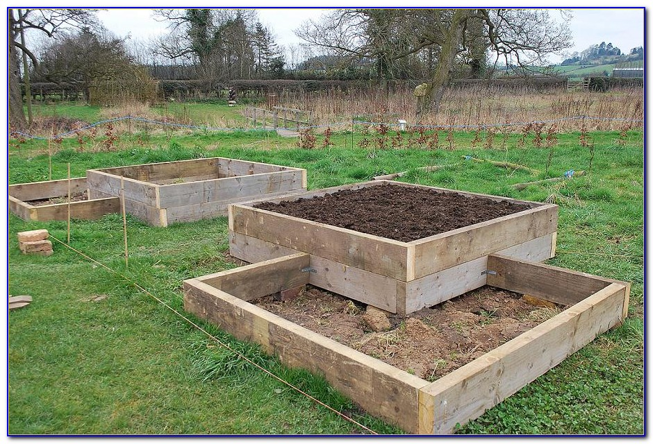 Raised Garden Beds Plans Bricks