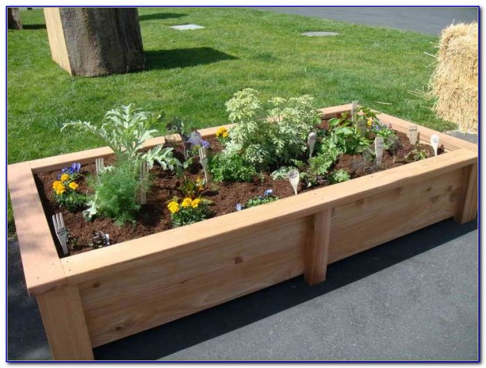 Raised Garden Beds Plans Materials
