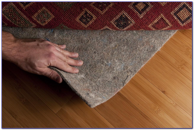Rug pad for hardwood floors non slip rugs home design for Hardwood floors slippery