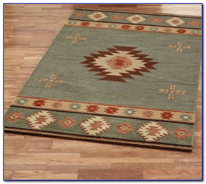 Southwest Area Rugs Wool