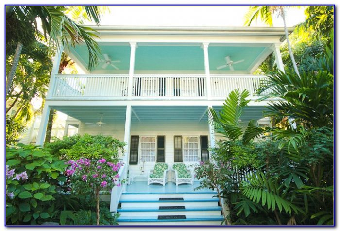 Elegant Spanish Gardens Motel Key West Fl
