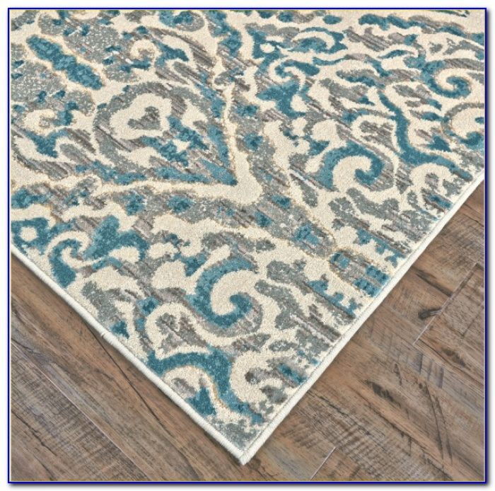 Turquoise Area Rugs 5x7