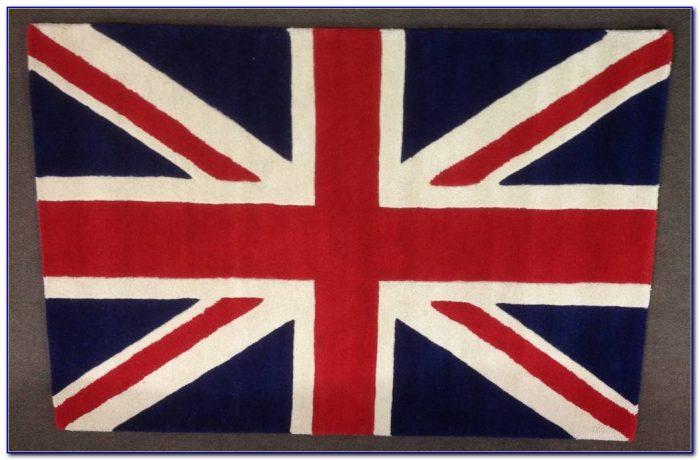 Union Jack Rug 8x10