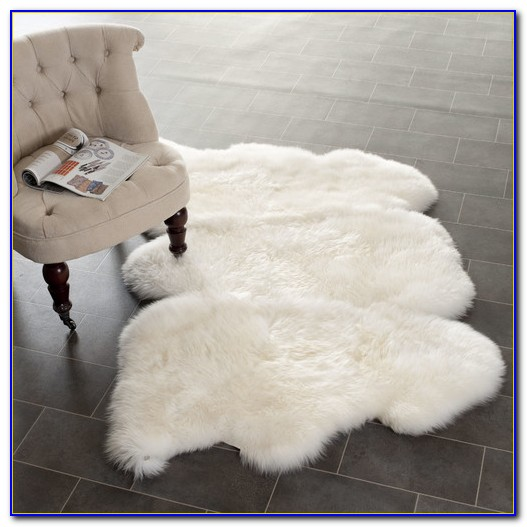 White Sheepskin Rug Costco