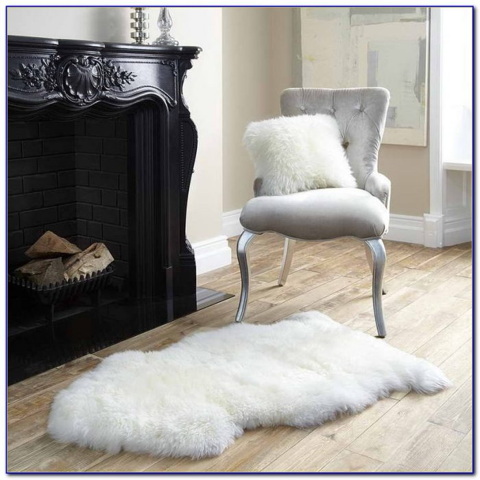 White Sheepskin Rug Uk