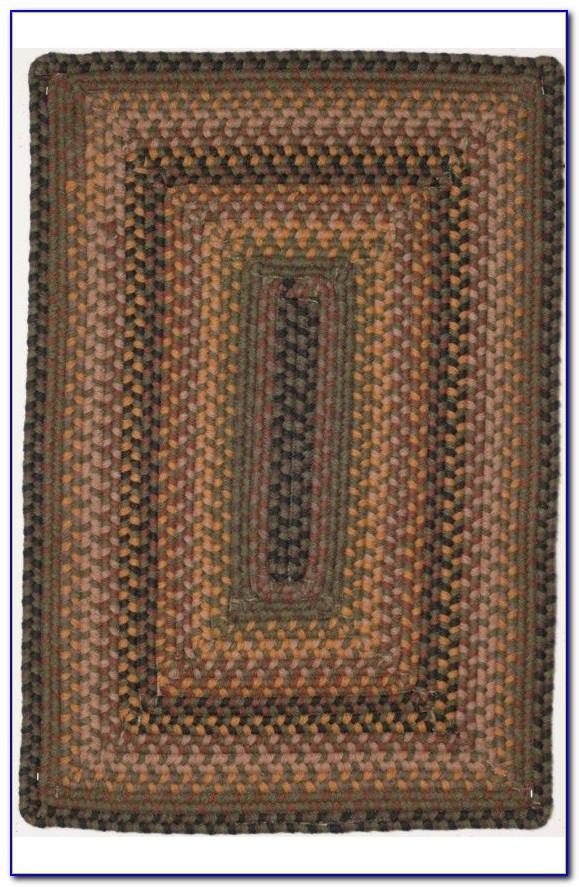 Wool Braided Rugs Rectangular