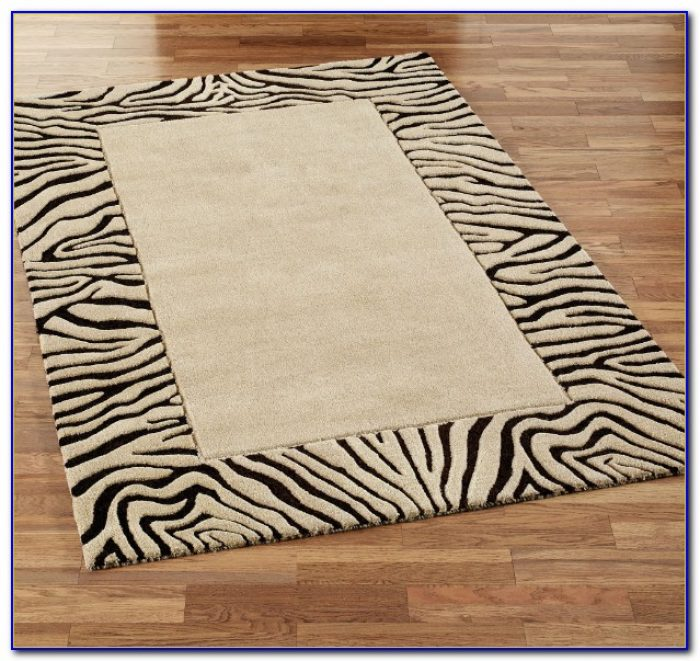 Gray Zebra Area Rug Rugs Home Design Ideas