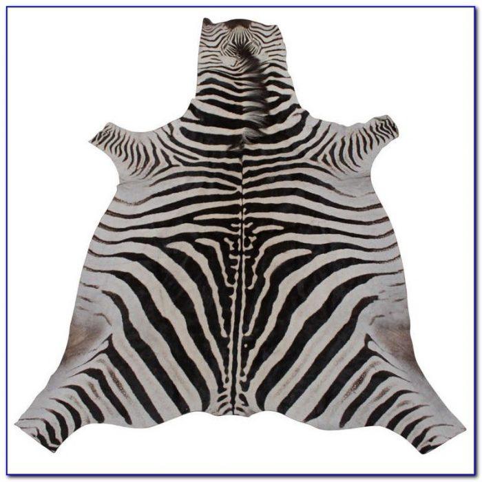 Zebra Hide Rug Ebay