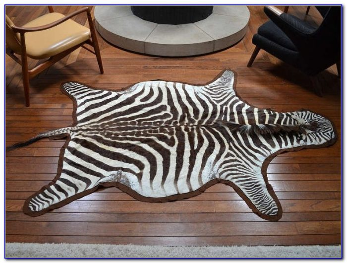 Zebra Hide Rugs Uk