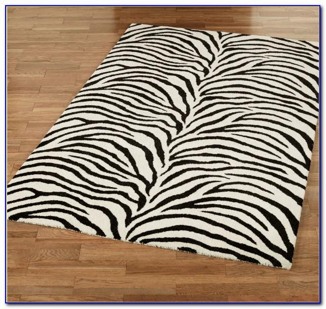 Zebra print rug living room download page home design for Room zebra design