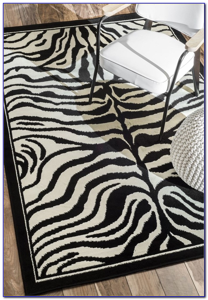 Zebra print rug pottery barn download page home design for Zebra rug ikea