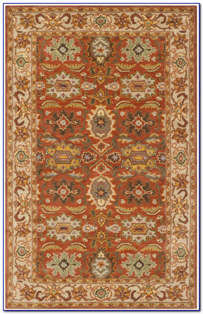 4x6 Rust Colored Rugs