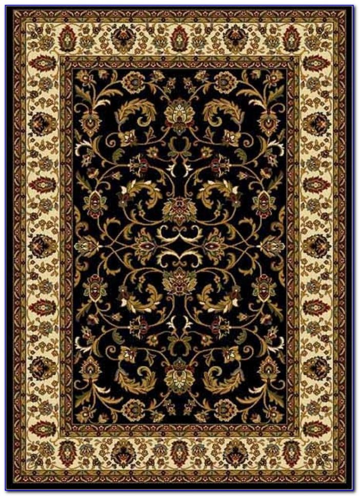 Black And Tan Area Rug Rugs Home Design Ideas