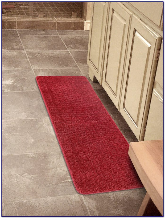 Bathroom runner rug