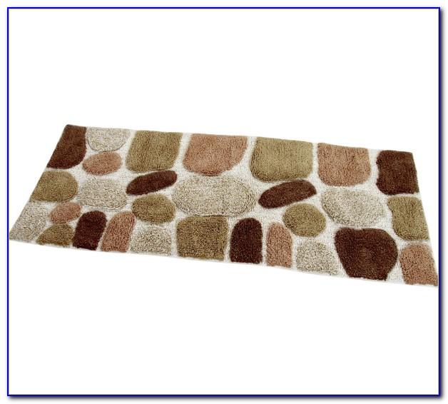 Bathroom rug runner washable rugs home design ideas Washable bathroom carpet cut to fit