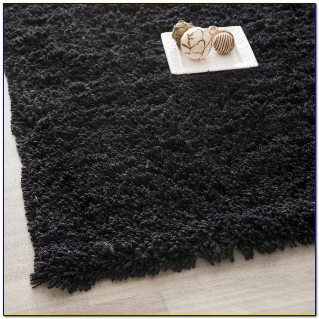 Big Black Furry Rugs Rugs Home Design Ideas
