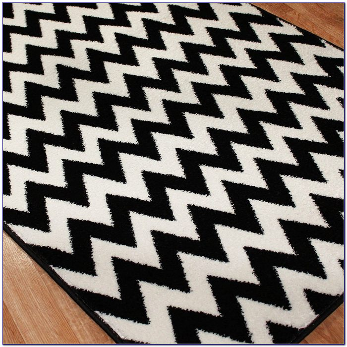 Black And White Striped Rugs Apartment Therapy