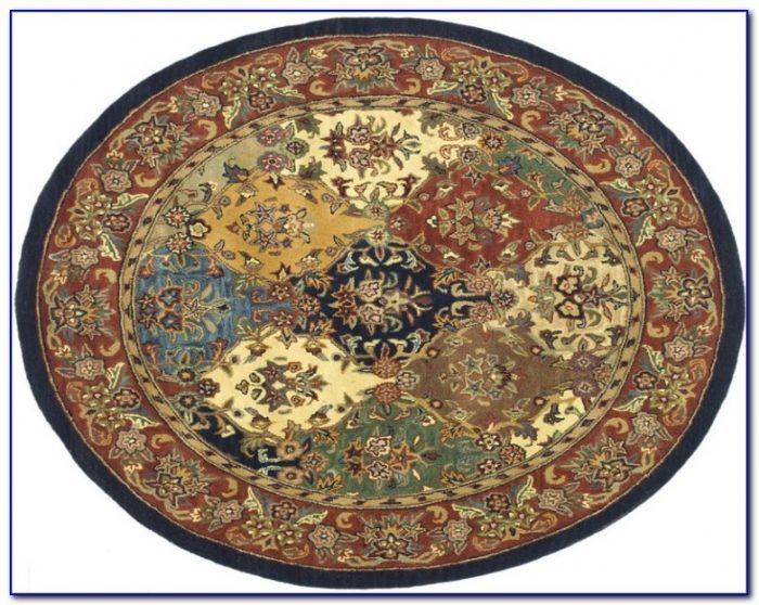 8 Ft Round Rug Blue Rugs Home Design Ideas
