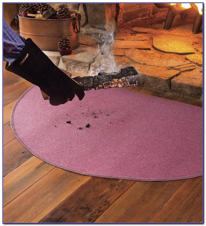 Braided Hearth Rugs Fire Resistant