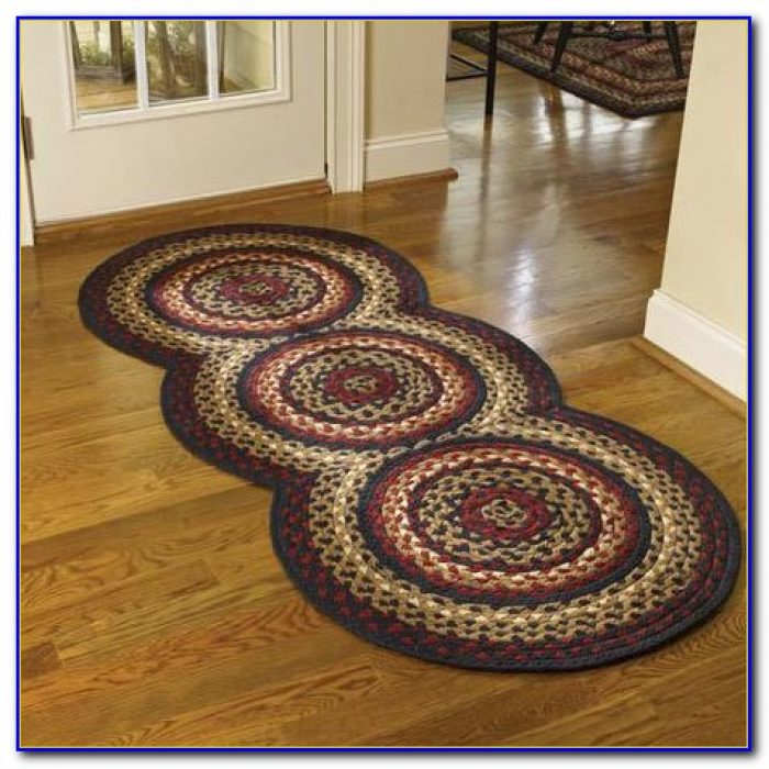 Country Braided Rug Runners