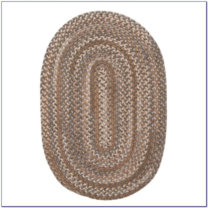 Oval Braided Rugs 5×8