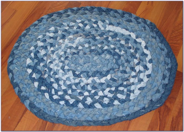 Braided Rag Rug Pattern