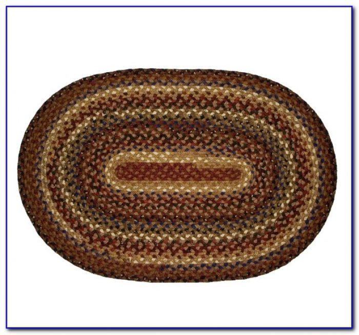 Oval Braided Rugs 9×12