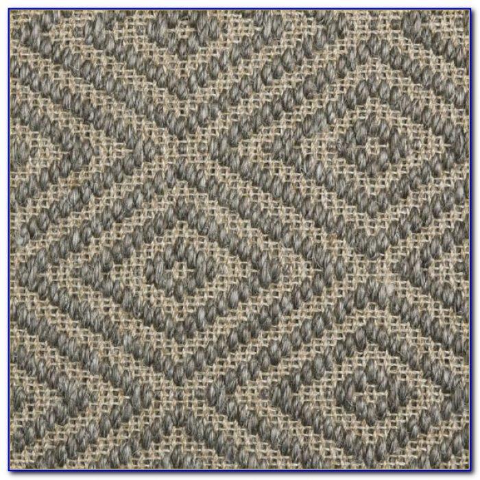 Custom Diamond Sisal Rug