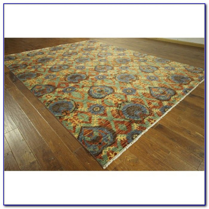 Diamond Ikat Area Rug