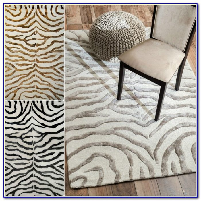 Zebra Hide Rug Faux Rugs Home Design Ideas