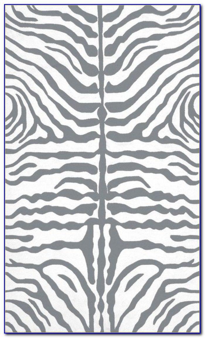 Grey Zebra Rug Runner Rugs Home Design Ideas