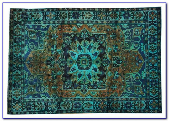 How To Overdyed Persian Rug