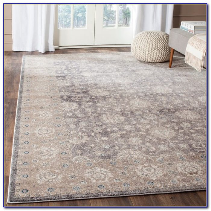 Light Grey Shag Rug