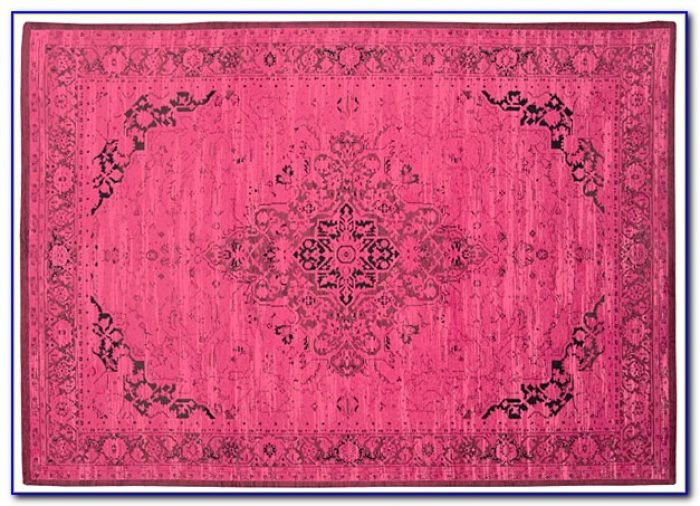 Light Pink Persian Rug