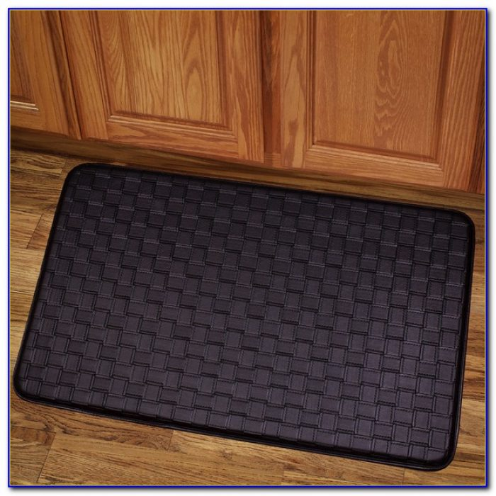Memory Foam Kitchen Mat Black