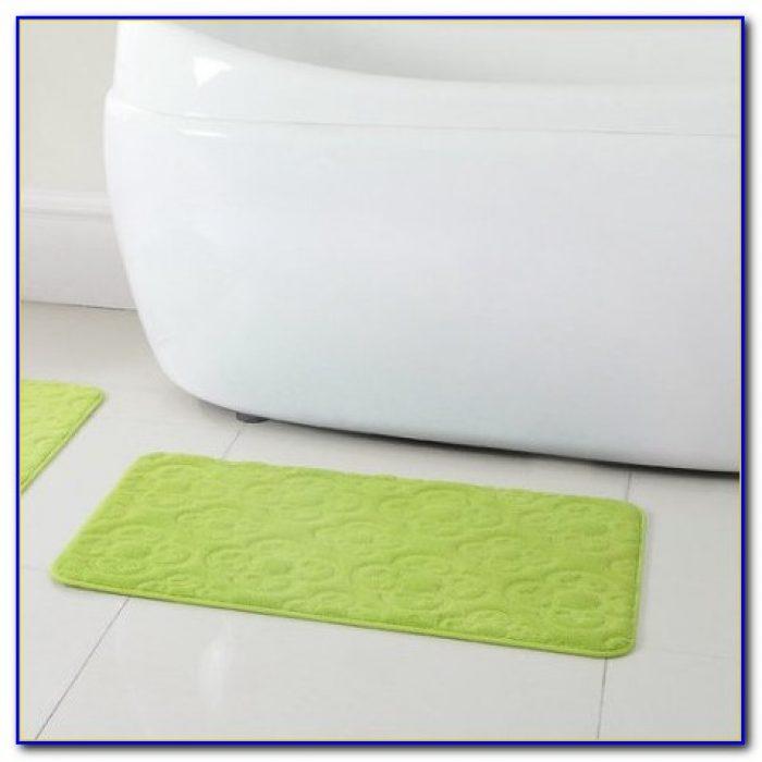 Microfiber Memory Foam Area Rug Rugs Home Design Ideas