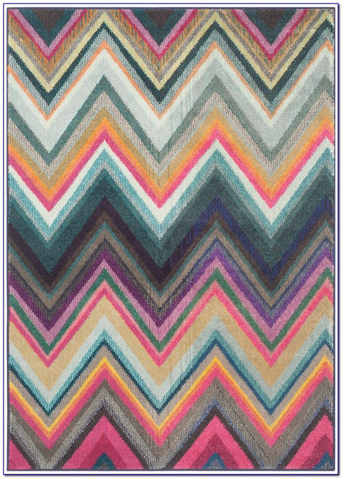Multi Colored Geometric Area Rugs