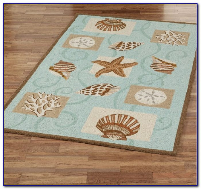 Nautical Area Rugs 5x7