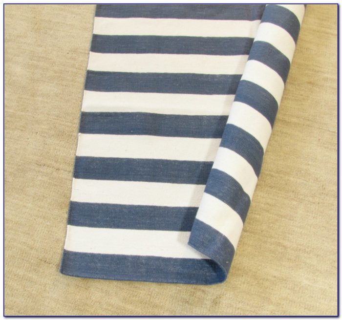 Navy And White Striped Cotton Rug Rugs Home Design Ideas A5pjx0bd9l57988