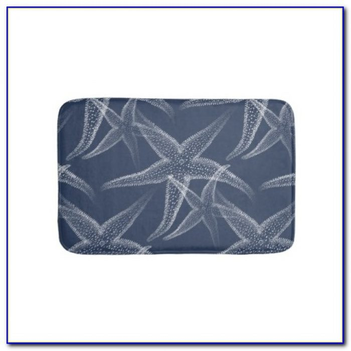 Dark Navy Blue Bath Rugs Rugs Home Design Ideas