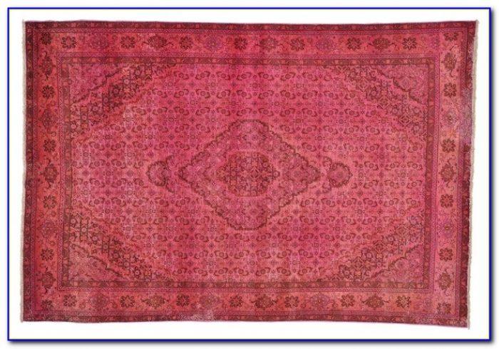 Pale Pink Persian Rug