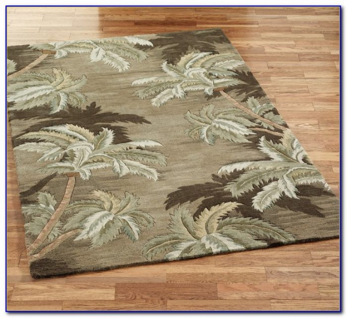 Palm Tree Accent Rugs