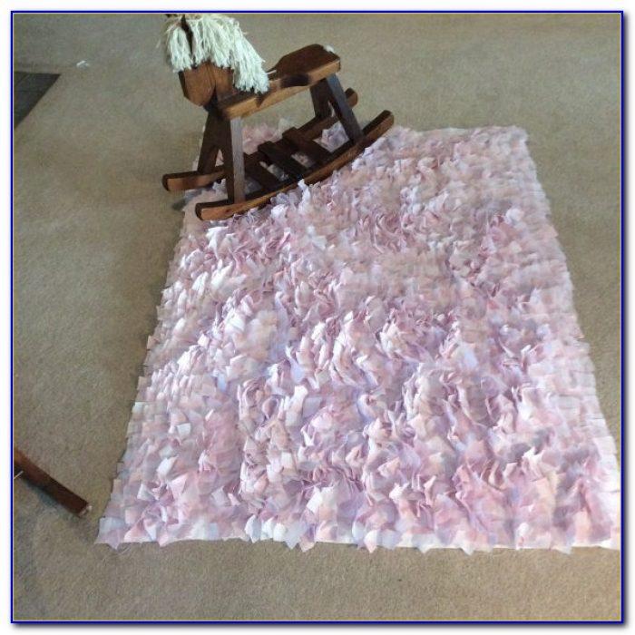 Pink Heart Rag Rugs