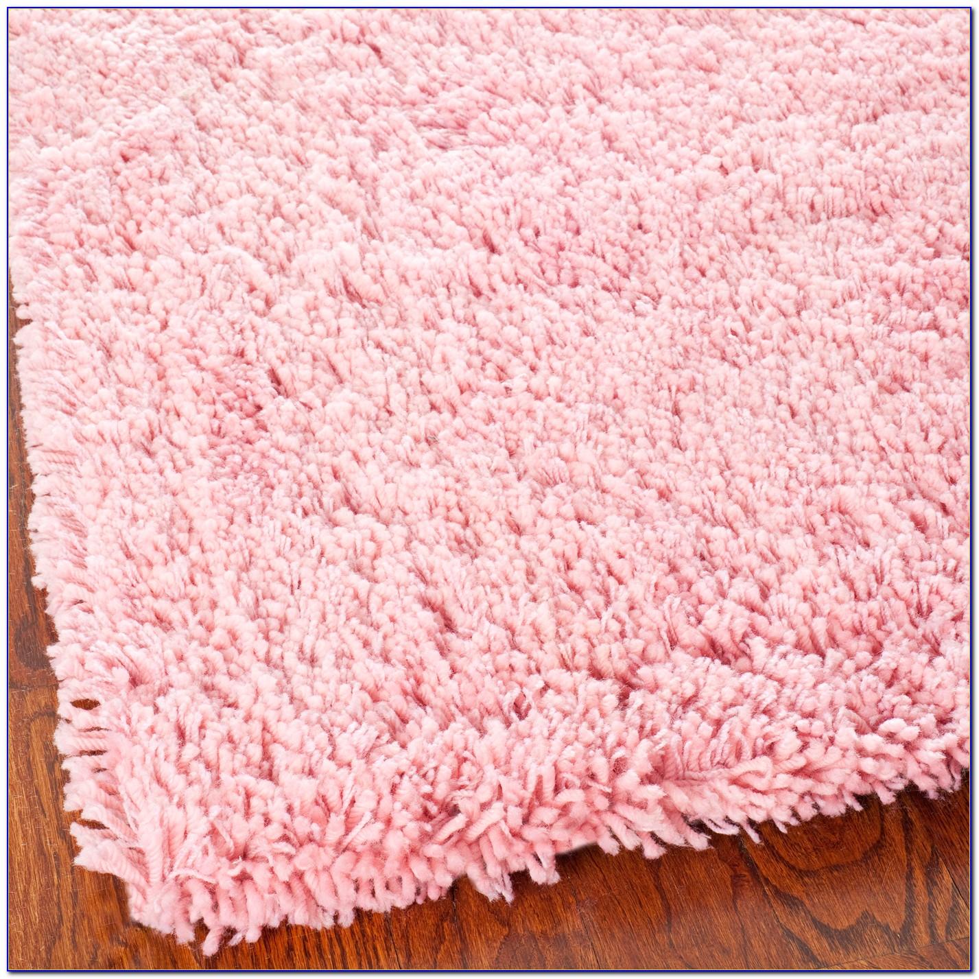 Pink Shaggy Rug Australia